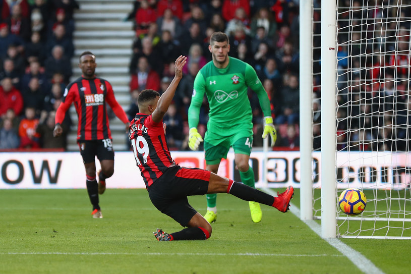 Bournemouth traci gola w meczu z Southampton (1-1) /Michael Steele /Getty Images