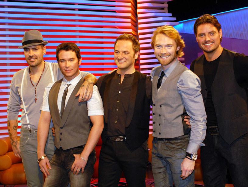 Boyzone w 2007 roku (Ronan Keating drugi z prawej, Stephen Gately drugi z lewej) /ShowBizIreland /Getty Images