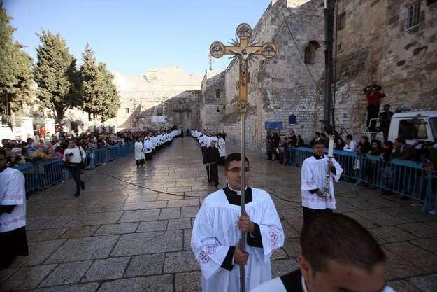 Boże Narodzenie w Betlejem /AFP