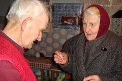Boże Narodzenie w polskiej wsi na Ukrainie