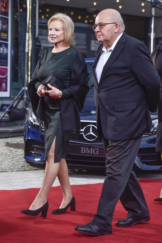 Bożena Dykiel i Ryszard Kirejczyk na festiwalu filmowym w Gdyni 2019 /AKPA
