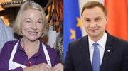 """Bożena Dykiel zachwycona Andrzejem Dudą! """"Po wyborach będzie lepiej"""""""