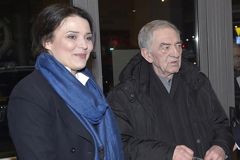 Bożena Stachura i Jerzy Trela /- /AKPA