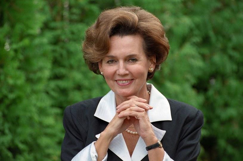 Bożena Walter w 1993 roku /Zenon Zyburtowicz/Fotonova /East News