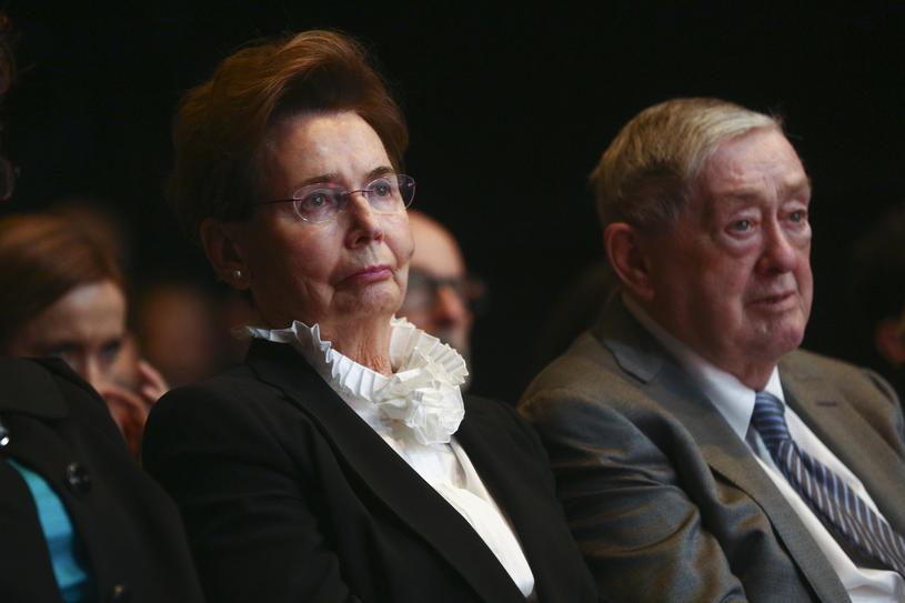 Bożena Walter z mężem /Beata Zawrzel/REPORTER /East News