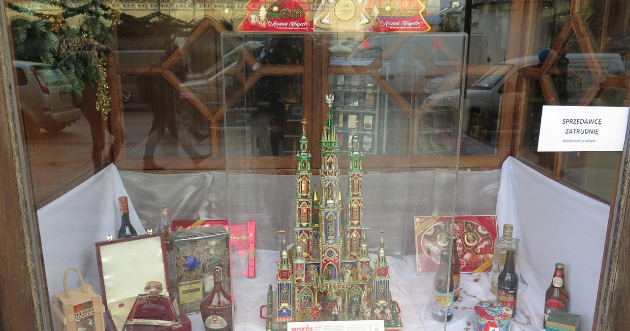 Bożonarodzeniowe szopki w krakowskich sklepach!