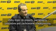 Bp Markowski: Smoleńsk dniem wspólnej pamięci? Myślę, że musimy na to poczekać jedno pokolenie