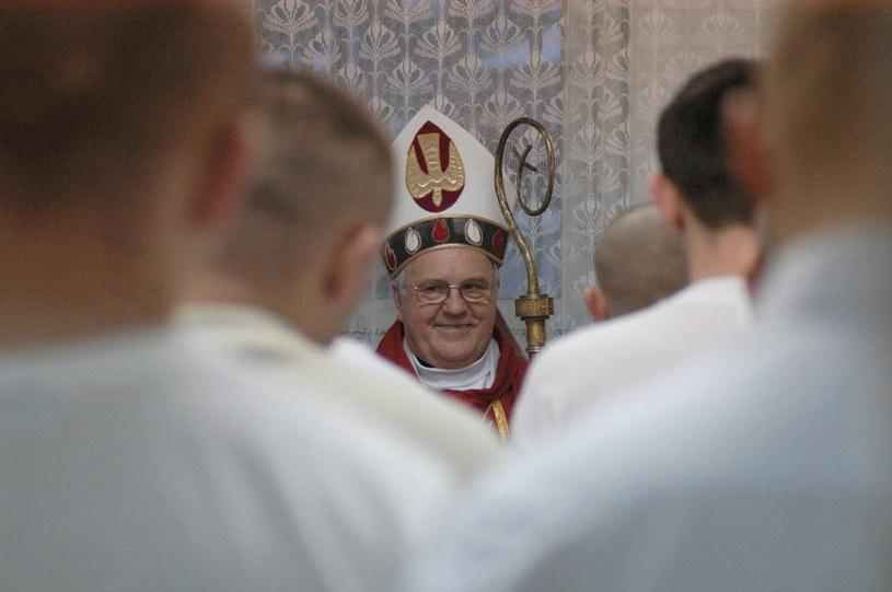 Bp Paweł Cieślik, zdjęcie archiwalne /Radek Koleśnik/Reporter /Reporter
