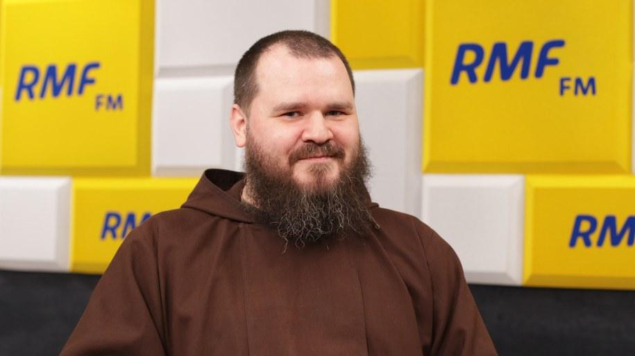 Br. Szymon Janowski w Popołudniowej rozmowie w RMF FM /Karolina Bereza /RMF FM