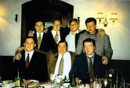 Brać Sołncewska w 1993 roku /criminalnaya.ru /materiały prasowe