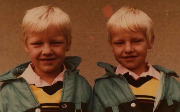 Bracia Mroczkowie w dzieciństwie /Facebook /materiały prasowe