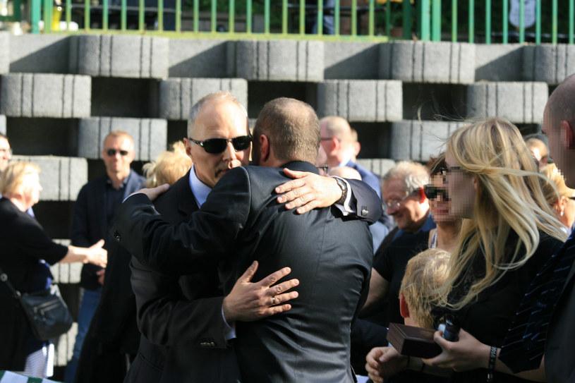 Bracia przekazali sobie znak pokoju /Andrzej Wrzesiński /East News