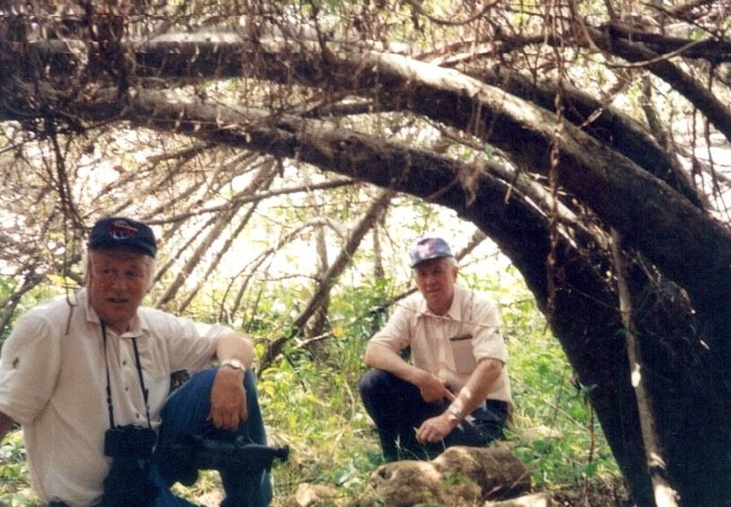Bracia Woźniakowscy po raz pierwszy - po wielu latach - pojechali do Ugandy w 1994 r. /Z archiwum Artura Woźniakowskiego /