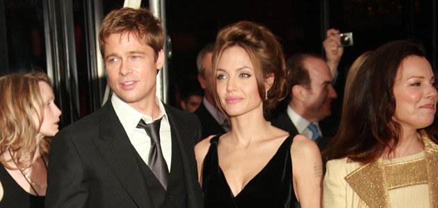 "Brad i Angelina na premierze filmu ""A Mighty Heart"", fot. Evan Agostini  /Getty Images/Flash Press Media"