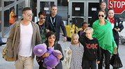 Brad i Angelina z dziećmi