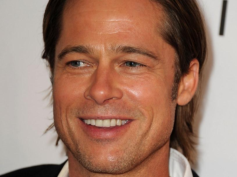 Brad jest jednym z naprzystojniejszych aktorów na świecie  /Getty Images/Flash Press Media