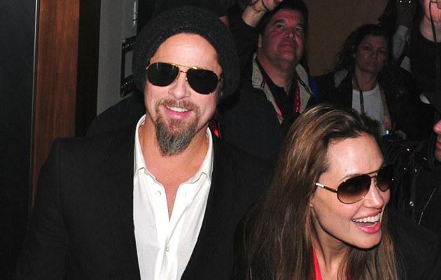 Brad Pitt, Angelina Jolie  /Agencja FORUM