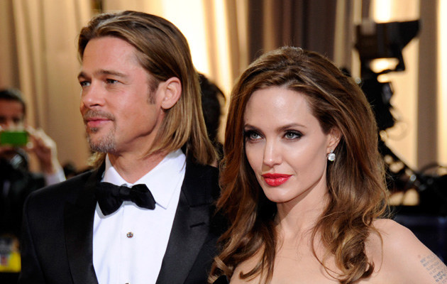 Brad Pitt, Angelina Jolie /Getty Images
