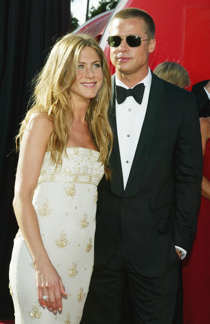 Brad Pitt był pierwszym mężem Jennifer Aniston /Kevin Winter /Getty Images