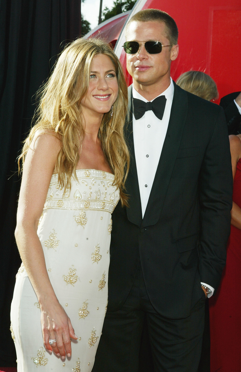 Brad Pitt był pierwszym mężem Jennifer Aniston /Kevin Winter /Getty Images