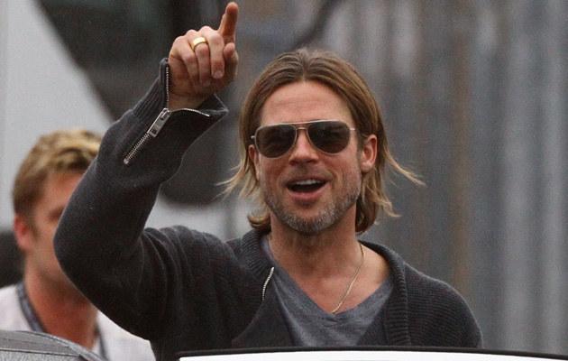 Brad Pitt, fot.Jeff J Mitchell  /Getty Images/Flash Press Media