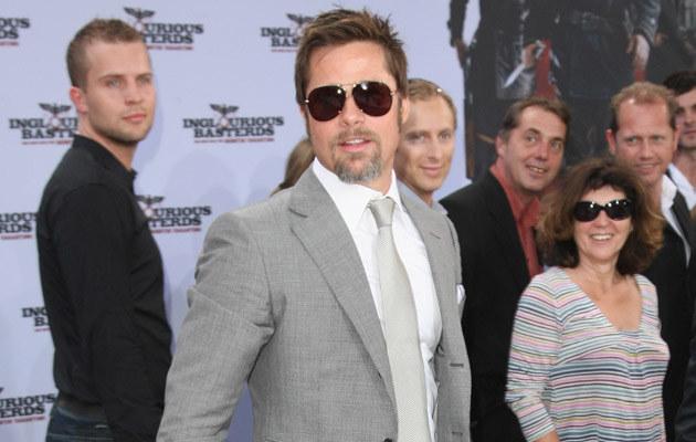 Brad Pitt, fot. Sean Gallup  /Getty Images/Flash Press Media