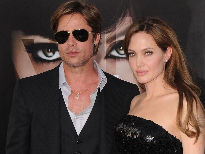 Brad Pitt i Angelina Jolie  /Getty Images/Flash Press Media