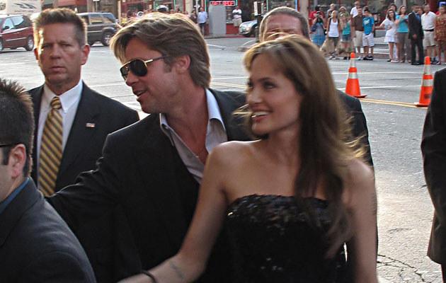 Brad Pitt i Angelina Jolie  /Splashnews