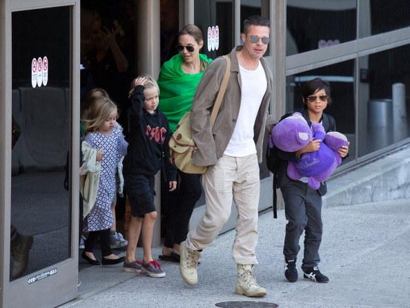 Brad Pitt i Angelina Jolie doczekali się własnego potomstwa, ale zaadoptowali też trójkę dzieci / GVK/Bauer-Griffin / Contributor /Getty Images