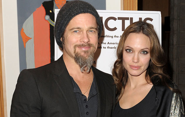 Brad Pitt i Angelina Jolie, fot. Kevin Winter   /Getty Images/Flash Press Media