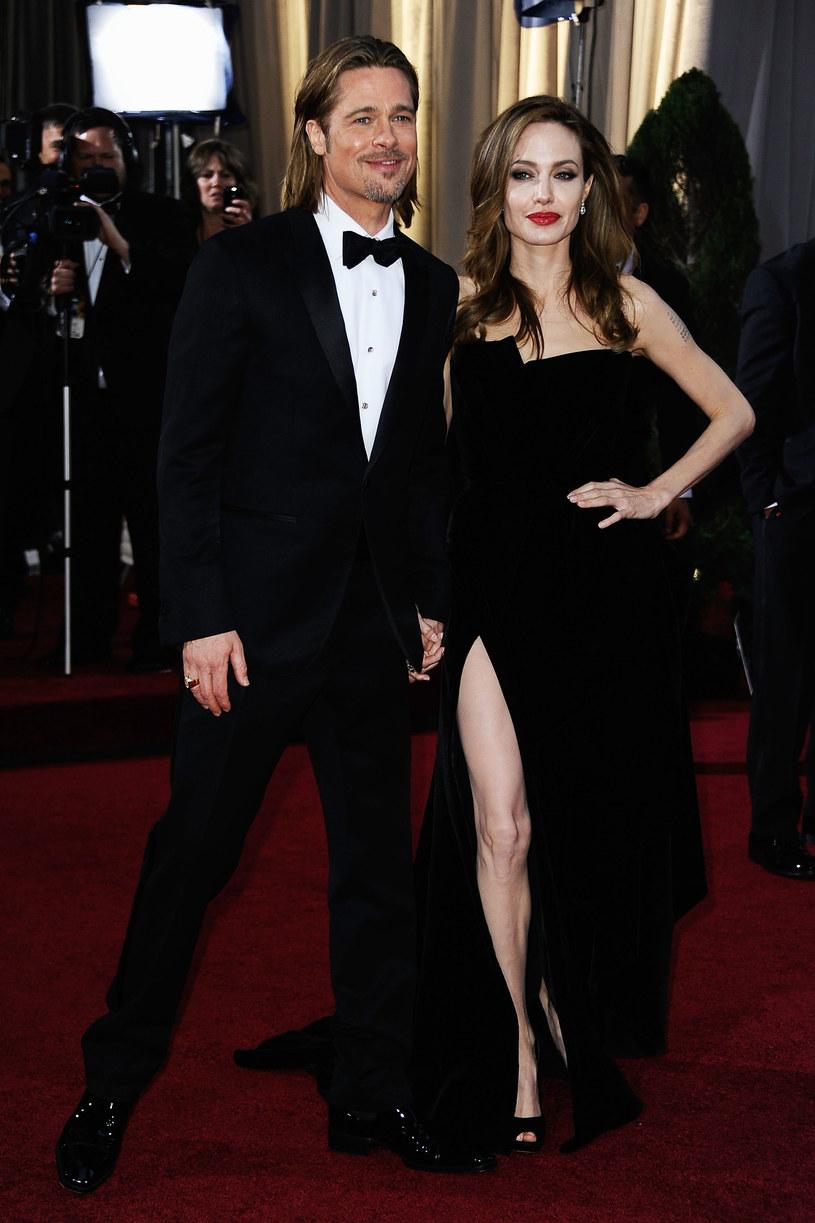 Brad Pitt i Angelina Jolie /Frazer Harrison /Getty Images