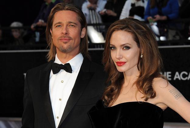 Brad Pitt i Angelina Jolie /PAP/EPA