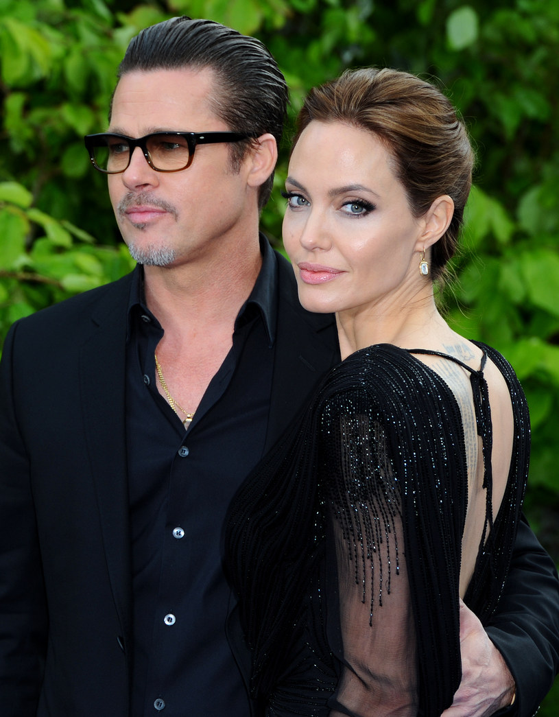 Brad Pitt i Angelina Jolie /Anthony Harvey /Getty Images