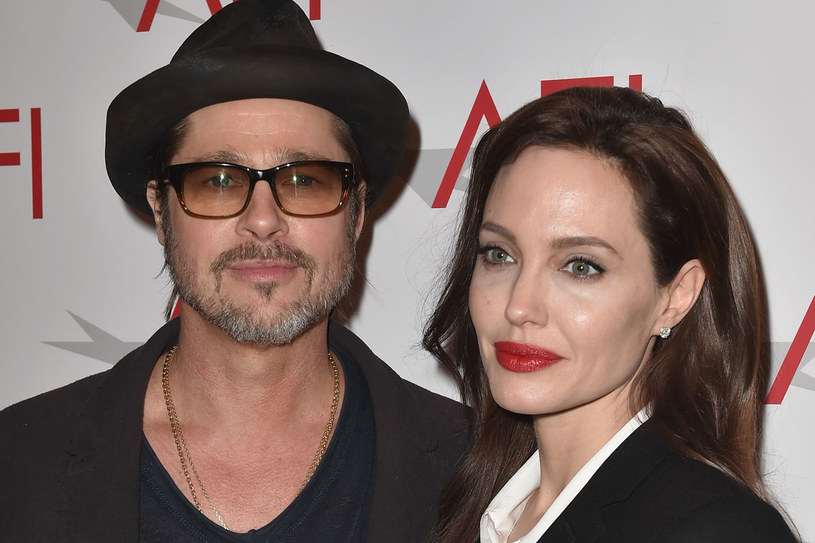 Brad Pitt i Angelina Jolie /Getty Images