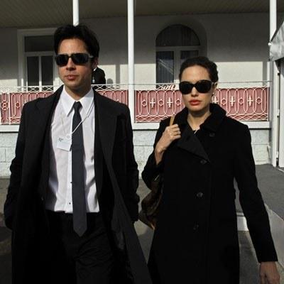 Brad Pitt i Angelina Jolie /AFP