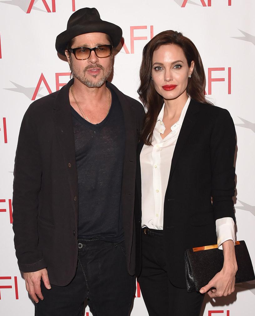 Brad Pitt i Angelina Jolie /Jason Merritt /Getty Images