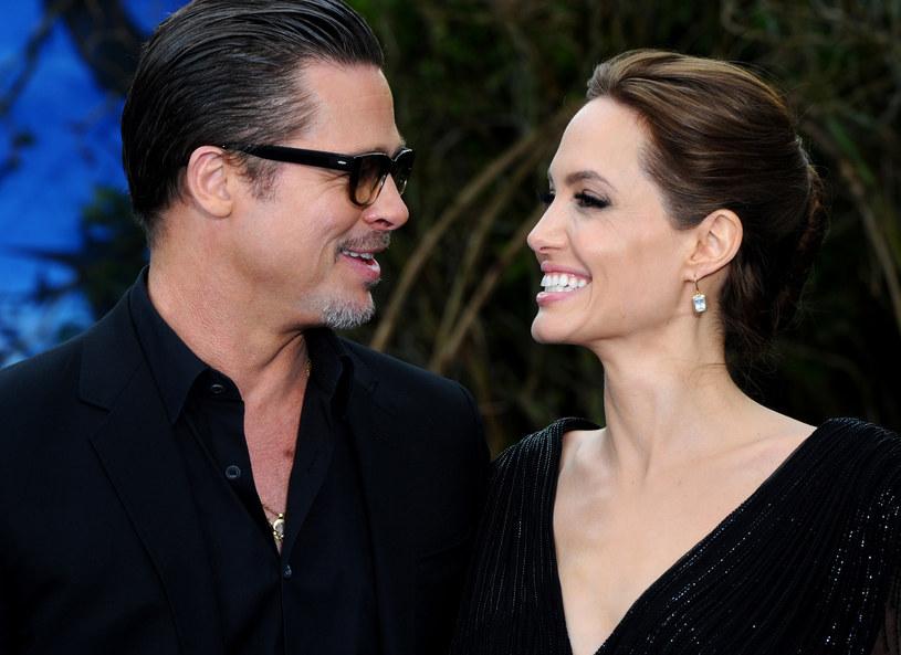 Brad Pitt i Angelina Jolie /Getty Images