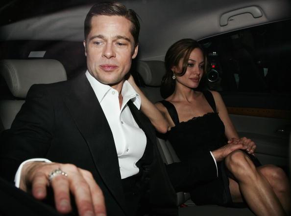 Brad Pitt i Angelina Jolie /Pascal Le Segretain /Getty Images