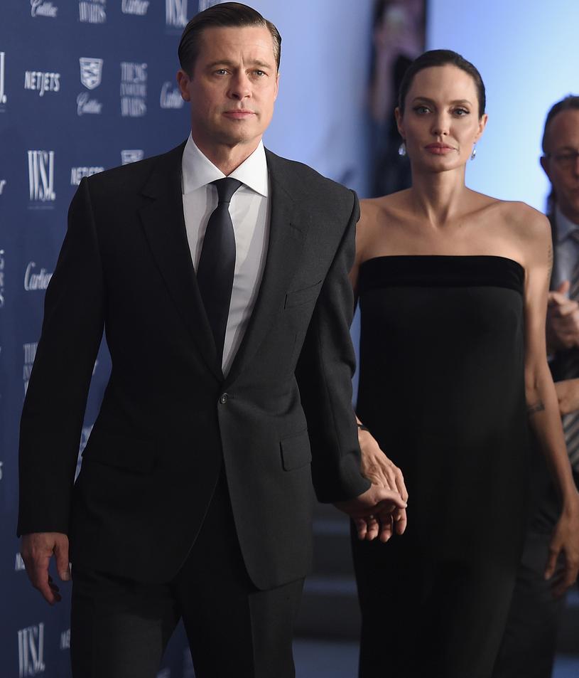 Brad Pitt i Angelina Jolie /Dimitrios Kambouris /Getty Images