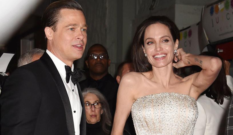 Brad Pitt i Angelina Jolie /Jeffrey Mayer /Getty Images