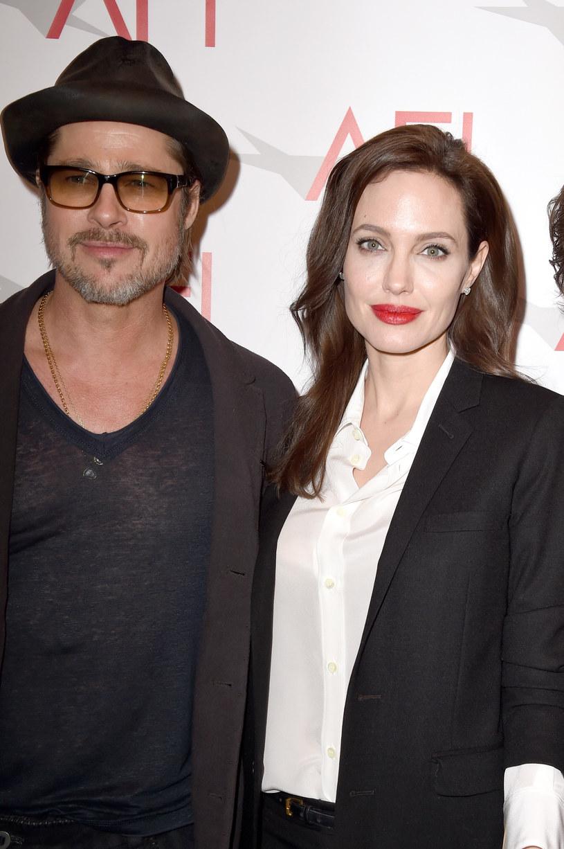 Brad Pitt i Angelina Jolie /Steve Granitz /Getty Images