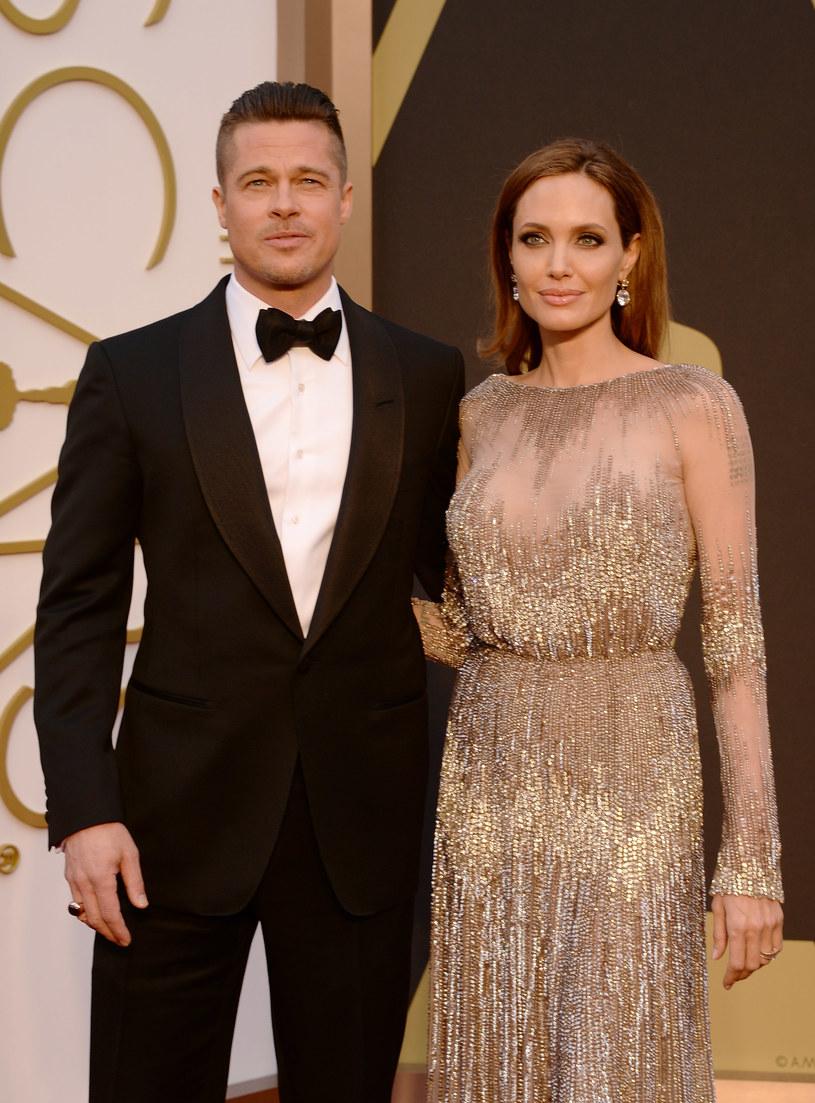 Brad Pitt i Angelina Jolie / Jason Merritt /Getty Images