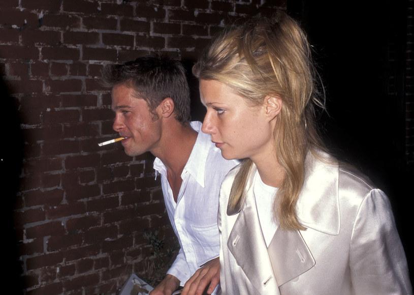 Brad Pitt i Gwyneth Palltrow w 1995 roku /Ron Galella, Ltd./Ron Galella Collection /Getty Images