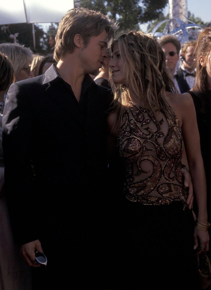 Brad Pitt i Jennifer Aniston, 1999 rok /Ron Galella /Getty Images