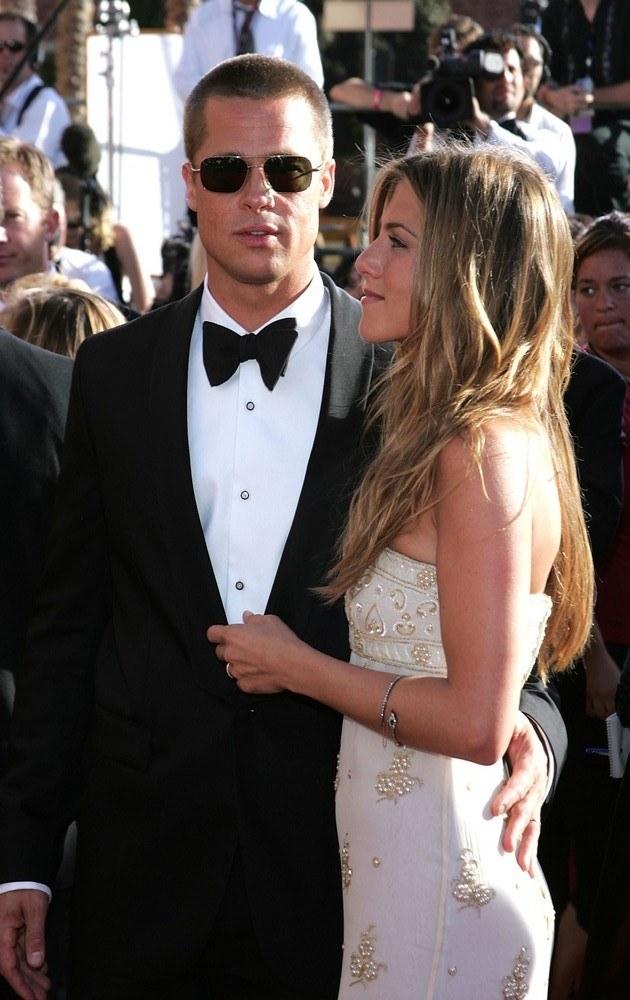Brad Pitt i Jennifer Aniston /Kevin Winter /Getty Images
