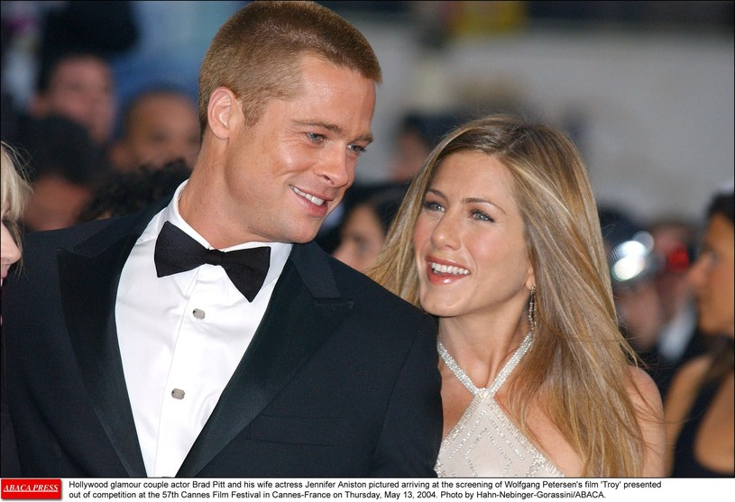 Brad Pitt i Jennifer Aniston /Hahn Lionel/ABACA/Abaca /East News