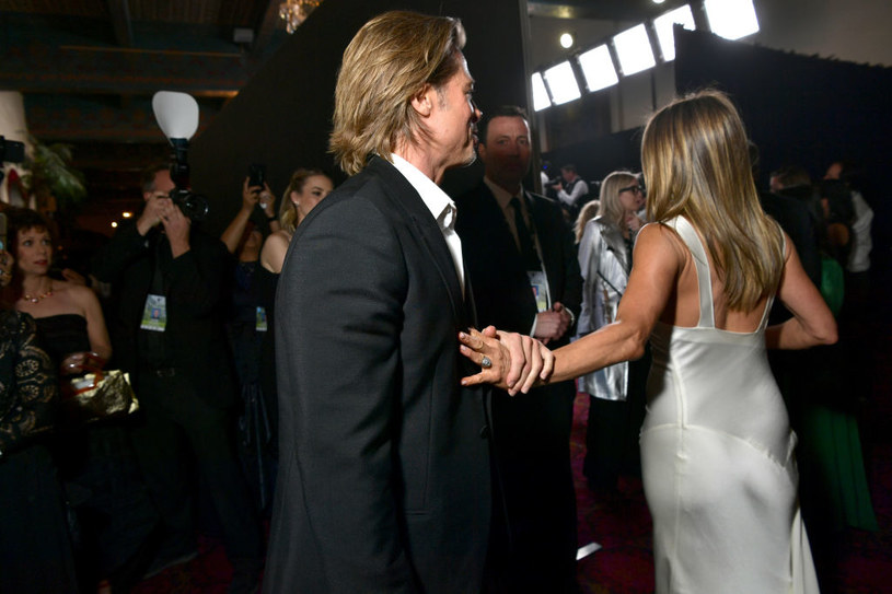 Brad Pitt i Jennifer Aniston /Emma McIntyre/Getty Images /Getty Images