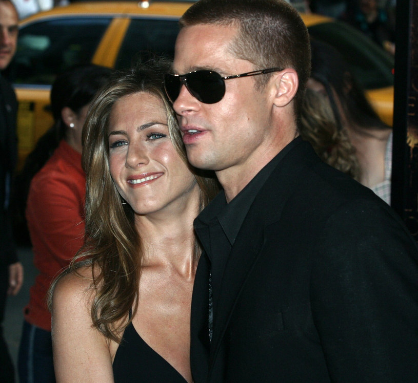 Brad Pitt i Jennifer Aniston /East News