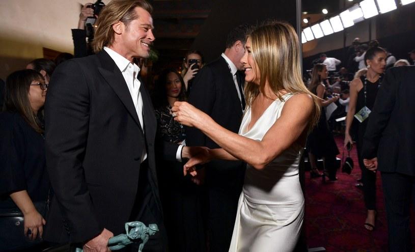 Brad Pitt i Jennifer Aniston / Emma McIntyre / Staff /Getty Images