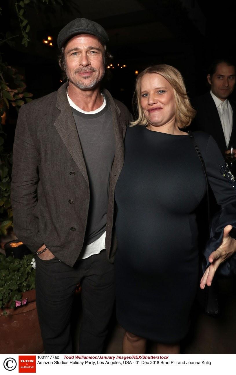 Brad Pitt i Joanna Kulig /Todd Williamson /East News